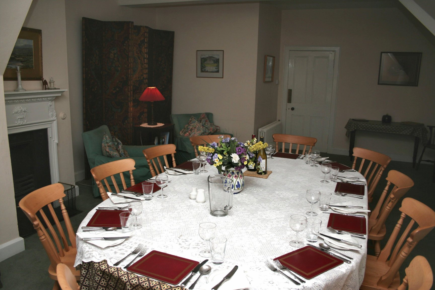 Alvie Estate Top Flat Dining Room