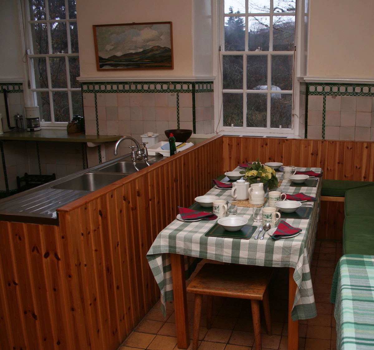 Alvie Estate North Wing Kitchen