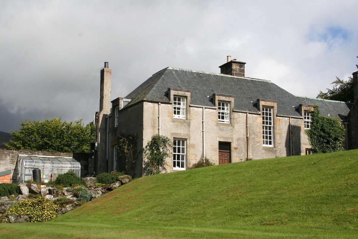 Alvie Estate north wing view