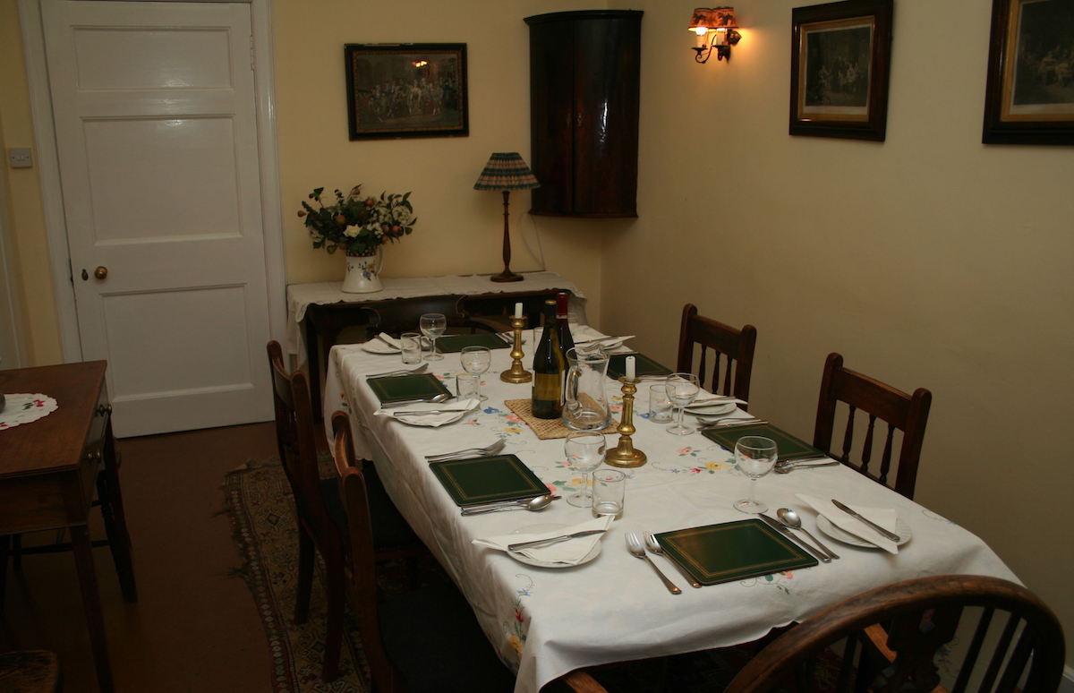 Alvie Estate North Wing Dining Room
